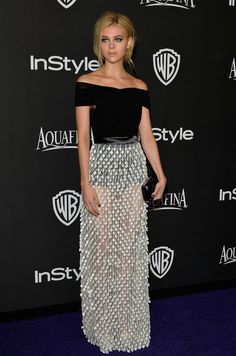 Nicola Peltz at the Golden Globes after party