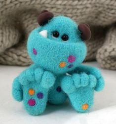 #toy #felt #monster #polandhandmade