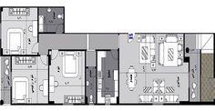 شقة للبيع ,التجمع الخامس 185 م ,قطعة 132 د - جنوب الاكاديمية - التجمع الخامس - دار للتنمية وإدارة المشروعات
