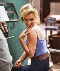 Espléndida Marilyn aún fotografiada inesperadamente
