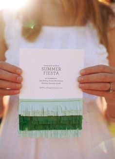 summer fiesta invite