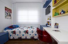 O gosto das crianças deve ser levado em consideração, afinal são eles que vão dormir, brincar e passar a maior parte do tempo no cômodo, cuidado apenas com os exageros nos pedidos dos pequenos.
