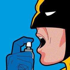 pop-art-illustrations-secret-lives-super-heros-greg-guillemin-designboom-54 - www.designboom.com