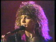 OH MY!. Way Way back in the day. Loving that hair. ....Bon Jovi - Only Lonely (RARE 80s Solid Gold Performance) - YouTube