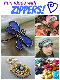 Fun ideas with zippers!