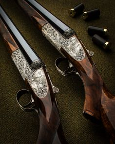WR 12g Round Action Sidelock Pair 3