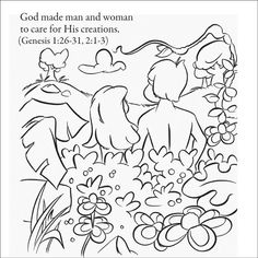 image result for days of creation coloring pages