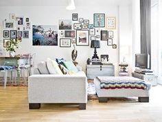 Wyjątkowe mieszkanie pełne skarbów i pamiątek