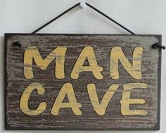 Man Cave Decorative Signs : Unbranded wooden man cave decorative indoor signs plaques ebay