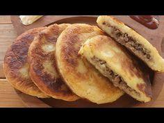 Easy Beef Stuffed Potato Pancakes | Ləziz Ətli Kartof Pankeki | Potato Recipes - YouTube