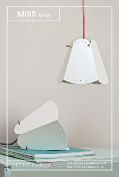 // MISS lamp //  by officinadecoR  made in Italy info@officinadecor.it