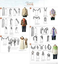tying scarves | How to tie a scarf