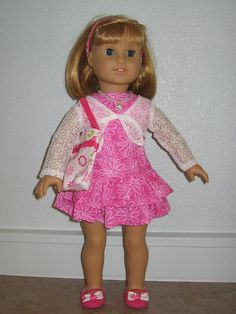 Complete outfit for 18 inch by girlydezines, $16.00
