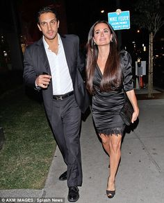 Kyle Richards ~ Real Housewives of Beverly Hills - I like them as a couple! Seem (on t.v. ~ obviously) to be great couple/parents.