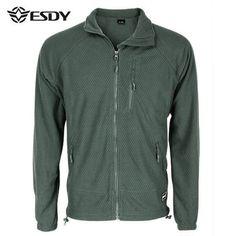 Mens Fall Winter Casual Polar Fleece Warm Soft Sports Jacket - Gchoic.com