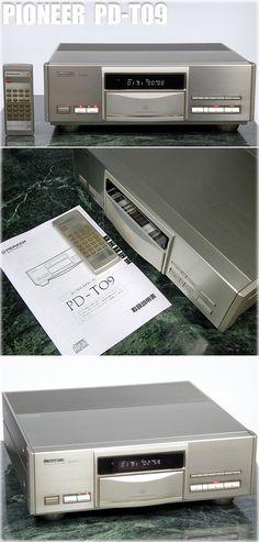 PIONEER PD-T09 Pioneer Decks, Pioneer Audio, Hi End, Audio Design, Yesterday And Today, Audio Equipment, Audiophile, Retro, Theater