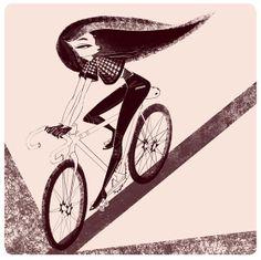 Priscilla Wong - Girls on bikes