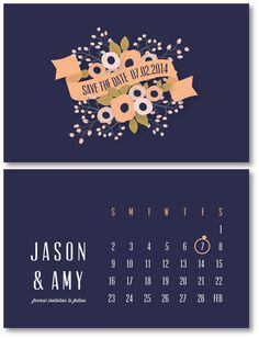 Save the Date, Wedding Stationery by Gina Stevens, via Behance