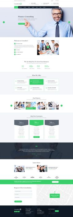 A Website Creation Guide For Creating Spectacular Compelling Websites Website Design Layout, Web Layout, Business Web Design, Corporate Business, Financial Website, Pag Web, Site Vitrine, Graphisches Design, Website Design Inspiration