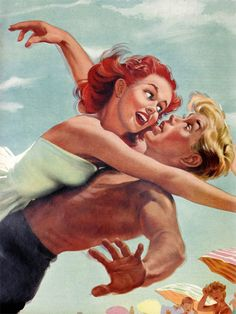 Madly - Affiche d'Art de la collection vintage de Slap! Boutique : Le Grenier