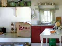 Farm kitchen Self Catering Cottages, Old Cottage, Country Style, Shabby Chic, Rustic, Kitchen, Home, Decor, Country Primitive