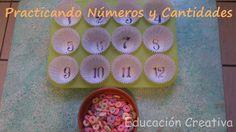 Practicando Números y Cantidades | Educación Creativa