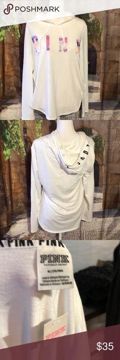 🌸PINK🌸 hoody New with tags PINK Victoria's Secret Tops Sweatshirts & Hoodies