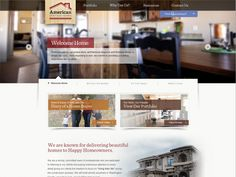 #insimple #WebDesign This is a site we did for www.americanheritagehomesut.com/. Check out the rest of our portfolio here: http://innovationsimple.com/portfolio/