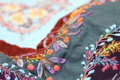 le jeudi : c'est broderie! - facilecécile beautiful embroidery French