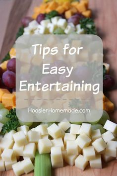 Tips for Easy Entert