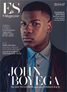 John Boyega covers ES magazine.