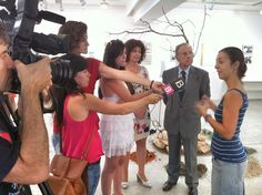 """Presentació de l'exposició """"Record la teva veu"""" a la Sala de Cultura Sa Nostra - Consell d'Eivissa."""
