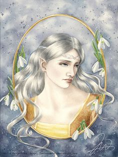 Celebrian by Veronnikka Daughter of Galadriel and mother of Arwen