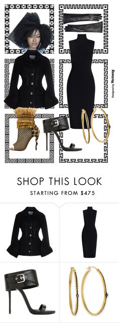 """""""Before it snows"""" by trescrwndgg ❤ liked on Polyvore featuring Prada, Zimmermann, Giuseppe Zanotti, Christian Louboutin, Armenta and Brooks Brothers"""
