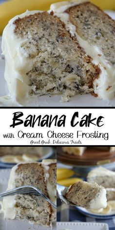 Cupcake Recipes, Cupcake Cakes, Dessert Recipes, Just Desserts, Delicious Desserts, Yummy Food, Biscuits, Banana Recipes, Eat Dessert First