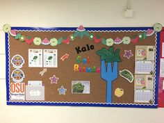 Food Hero Bulletin Board all about Kale. English and Spanish. Recipes, calendars, Food Hero monthlies, and more!