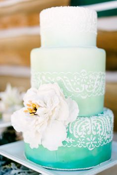 Try this wedding cake to complement that subdued tone. Description from pinterest.com. I searched for this on bing.com/images