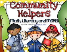 It is important to have a connection between a classroom and the community that classroom is associated with.  its very important for students to learn about people in the community that can help them and how to get in touch with these people.  This book helps integrate the content areas into learning about community helpers.