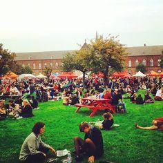 by atygent: Veel schuun volk op #nietsisverloren festival #atelierdestad #weloveghent #bijloke #visitgent #stadgent