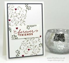 Stampin' Up! Demonstrator Pootles - Colour Your World Blog Hop with First Sight