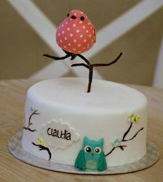 ¡Muchas felicidades Claudia! #TartasPersonalizadas #TartasCumpleaños #Tartas #Cumpleaños #LasRozas #Wooca #Pastelería