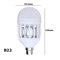 ac220v e27 b22 7w led mosquito bug zapper light bulb flying insects moths killer lamp Sale - Banggood.com Mosquito Killer, Anti Mosquito, Led Flashlight, Strip Lighting, Light Bulb, Lights, Flying Insects, Bulb Lights