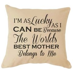 Best Mother Perfect Mothers Day Cushion Gift For Mum