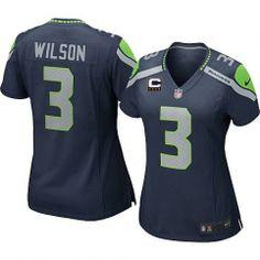 ... Nike Mens Seattle Seahawks 3 Russell Wilson Elite Team Alternate Two  Tone NFL Jersey Marshawn Lynch . b88275379
