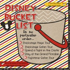 "Disney Bucket List created by larkd featuring ""Project Mouse (Fantasy)"" by Sahlin Studio"