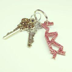 Sigma Kappa glitter keychain $8.00 LOVE