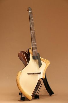 Michihiro Matsuda Guitars Matsuda headless arched top acoustic electric…