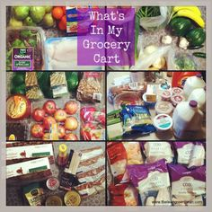 AWESOME blog post about healthy eating, food prep, and grocery shopping.