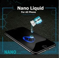 The Nano Liquid Screen Protector will also improve your phone screen resistance to grease, water, and fingerprints. This will work on any phone to ensure the protection of the screen. Simple Life Hacks, Useful Life Hacks, Gadgets And Gizmos, High Tech Gadgets, Useful Gadgets, Cool Gadgets To Buy, Cool Inventions, Cleaning Hacks, Diy Hacks