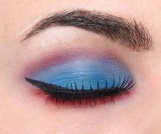 Blue Eyeshadow look for dark brown eyes #palettereview #eyeshadowpalette #eyeshadowfordarkeyes #makeupforbrowneyes